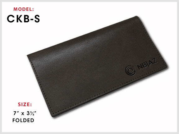 CKB-S Leather Checkbook Cover with Specs