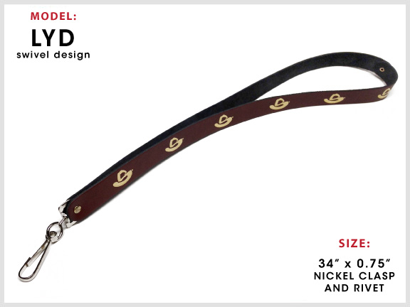 LYD Leather Lanyard